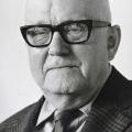 Karl Stukenborg in seinem 80. Lebensjahr, zu Besuch in Osnabrück / Deutschland