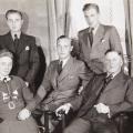 Ehepaar Josef und Elisabeth Luhrmann geb. Berner (aus Wellingholzhausen), Söhne Alois, Hubert, Franz (von links), ca. 1938